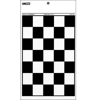 10A resize Leneta Form 10A Checkerboard Chart