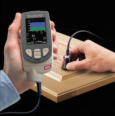 200 wood e1521433933305 Ultrasonic Coating Thickness Gauge PosiTector 200