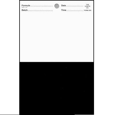 5DX resize Leneta Form 5DX Brushout Card
