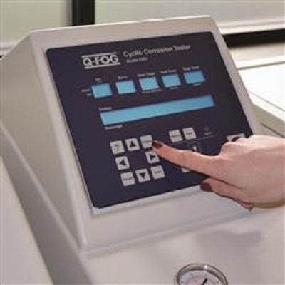 CRH control panel resize Q-FOG CRH Cyclic Corrosion Tester with RH control