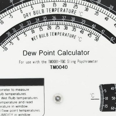 DAUWPUNT CALCULATOR03 Dew Point Calculator