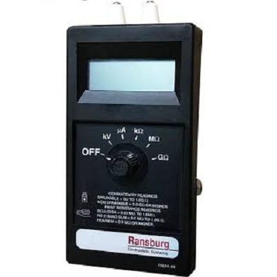 Meter resize ITW Ransburg Paint Resistivity Meter