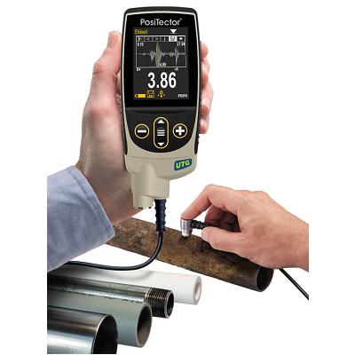 PosiTectorUTG 2 A Scan Measurement resize PosiTector UTG Ultrasonic Wall Thickness Gauge