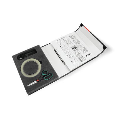 STOF TESTKIT02 2 Dust Test Kit