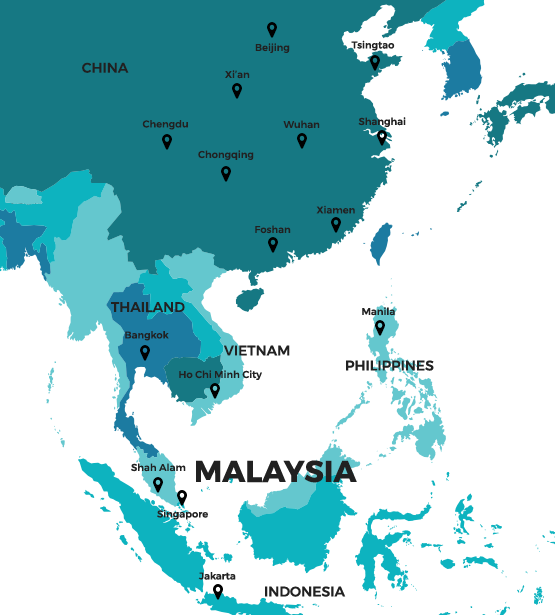 asia map About Us