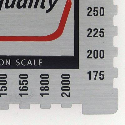 wet film measuring comb ld2030 03 resize Wet Film Comb Gauge Aluminium